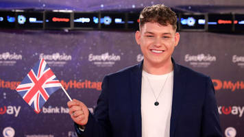 Eurovision 2019: 'Game time' for UK's Michael Rice