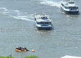Breaking: Helicopter Crashes Into Hudson River Near Midtown