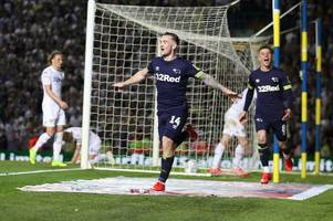 Derby County secure Wembley play-off final after dramatic win over Leeds United