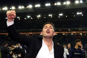 Frank Lampard on Derby County's dramatic play-off victory over Leeds United