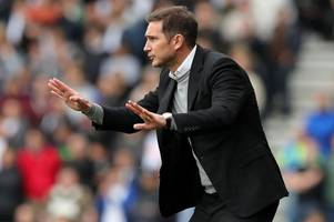 Frank Lampard warns Derby County players not to lose their heads against Leeds