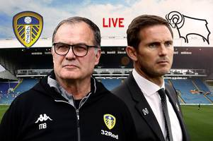 Leeds United v Derby County live - build-up, team news and more ahead of crunch play-off clash