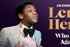 sir lenny henry is bringing his memoirs to hull city hall this october