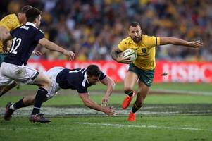 rugby rumours and transfer news: harlequins in talks to sign quade cooper; gloucester linked with newcastle falcons ace; sale sharks and london irish add internationals