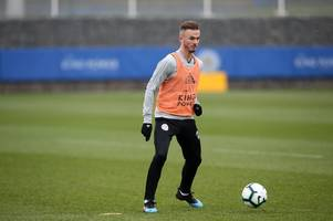 james maddison and leicester city stars take on jimmy bullard in soccer am's 'you know the drill'