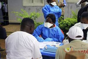 'terrifying' ebola epidemic out of control in drc, say experts