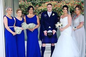 wedding of the week: lorianne brown and tom hamilton