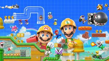 super mario maker 2 multiplayer brings luigi, toad and toadette to the fun