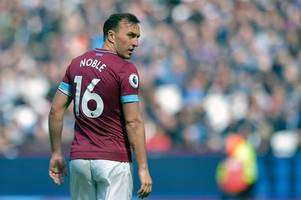 mark noble lifts lid on what it's like to play for west ham boss manuel pellegrini