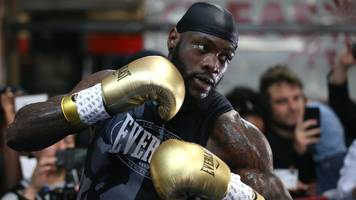 'this is a brutal sport': wilder defends comments about wanting to kill in the ring