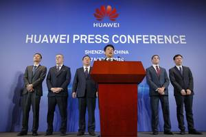 Trump's Huawei ban could spark a tit-for-tat fight with Beijing that puts Apple in the middle of the crossfire (AAPL, NVDA, INTC, AMD, QCOM)