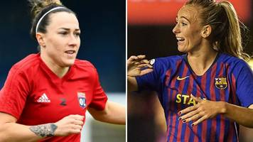 Women's Champions League final: Lyon Feminines v Barcelona Femenino