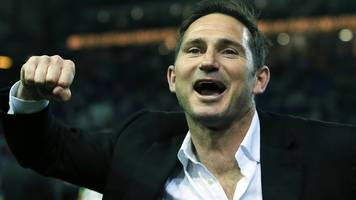 frank lampard: derby county reaching play-off final 'up there' in career highs