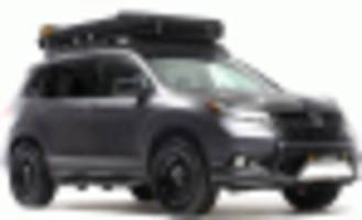 2019 honda passport gets outfitted for overlanding adventures