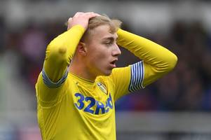 leeds united starlet says 'you don't always get what you deserve' after derby county defeat