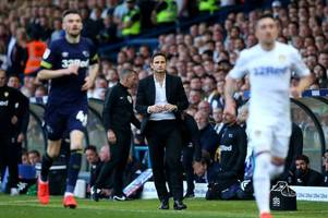 the simple message frank lampard gave his players at half-time in play-off clash with leeds