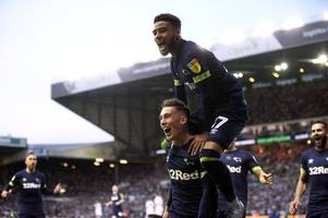 Watch Derby County players celebrate Harry Wilson strike at Leeds United in Elland Road away end
