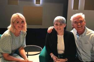 Phillip Schofield and Holly Willoughby make terminally ill woman's dream come true