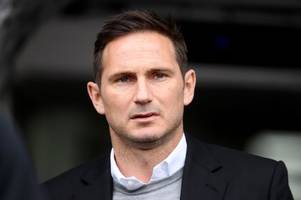 derby county boss frank lampard has his say on those euphoric aston villa play-off celebrations