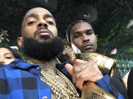 Here's A Look At Nipsey Hussle's Last Music Video W/ DJ Khaled + John Legend