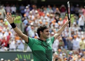 federer, nadal and osaka win on busy day at italian open
