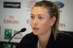 maria sharapova withdraws from french open, citing right shoulder