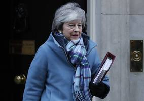 uk pm may faces renewed pressure to set out departure date