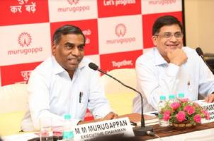 murugappa group registers a robust growth of 12% in turnover
