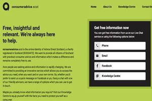 Free consumer advice hotline helps Scots deal with problems buying goods in shops and online