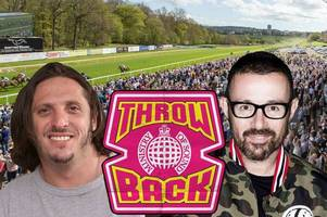 judge jules and brandon block playing ministry of sound gig at hamilton park racecourse this friday