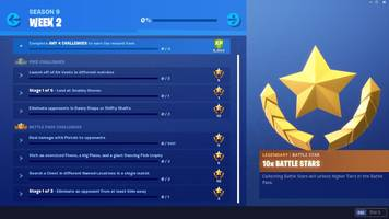 fortnite week 2 challenge list: air vents, pistol damage, and more (season 9)