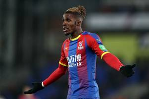 ex-palace striker speaks out about former team-mate wilfried zaha amid arsenal & spurs links