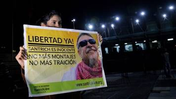 colombia peace process: ex-rebel santrich to be freed