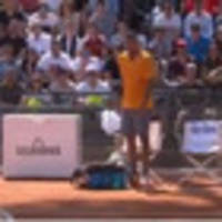 Nick Kyrgios throws chair on court, kicked out of Italian Open