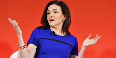 Sheryl Sandberg says 60% of male managers are afraid to have a one-on-one meeting with a female employee (FB)
