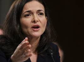 sheryl sandberg revealed a new argument to stop regulators from breaking up facebook (fb)