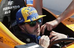 mclaren gets alonso on track for fast friday of the indy 500
