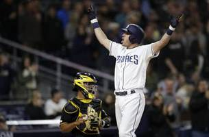 Ian Kinsler's clutch 3-run home run lifts Padres to victory over Pirates