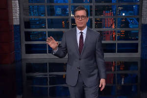 colbert takes a skeptical look at trump administration arguments that iran is a threat (video)