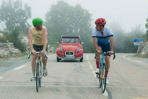 'the climb' film review: for a change, cannes does comedy