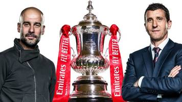 fa cup final: man city look to make history, watford aim for an upset