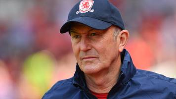 tony pulis: middlesbrough part with boss after missing out on play-offs
