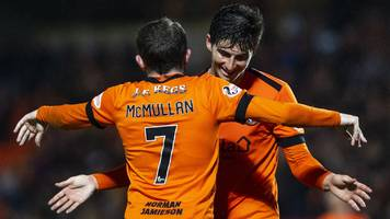dundee utd: robbie neilson says side underdogs for play-off final