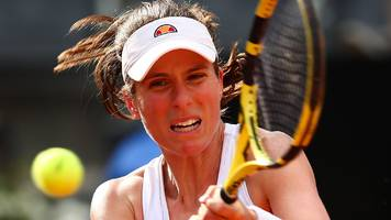 Italian Open: Johanna Konta into semi-finals, Naomi Osaka withdraws with injury