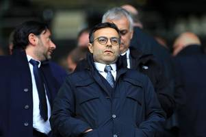 leeds united chairman breaks silence after play-off defeat to derby county