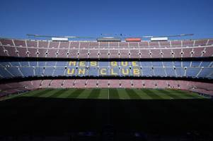 super league games could be taken to other europe cities if nou camp match a success