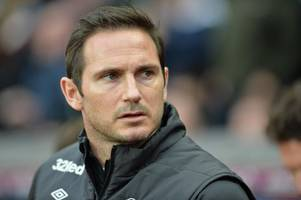 'beat us 7-0' this is what derby boss frank lampard thinks of play-off rivals aston villa