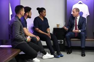 The Duke of Cambridge kicks off men's mental health campaign with launch at Wembley stadium