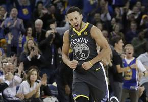curry brothers headline game 2 of western conference finals