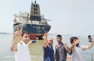 'historic' hc order allows stranded sailors to leave tag navya ship